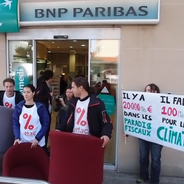 BNP, actions ATTAC